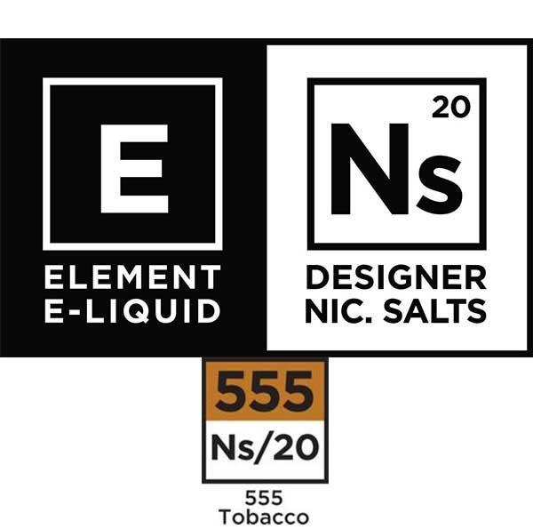 Element - Nicotine Salts 555 Tobacco