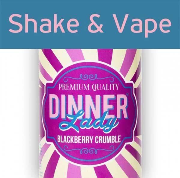 Dinner Lady Blackberry Crumbled (Mix & Vape)
