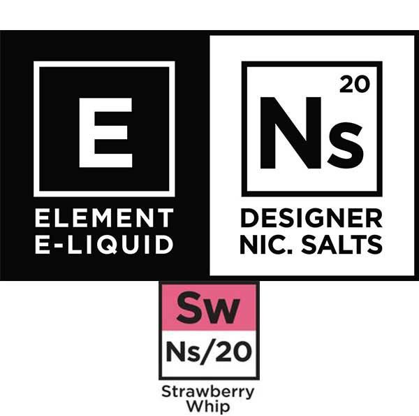 Element - Nicotine Salts Strawberry Whip