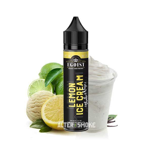 Egoist Lemon Ice Cream 12ml (Shake n Vape)