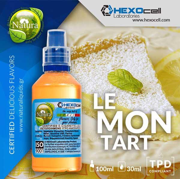 Natura - Lemon Tart (Mix Shake Vape)
