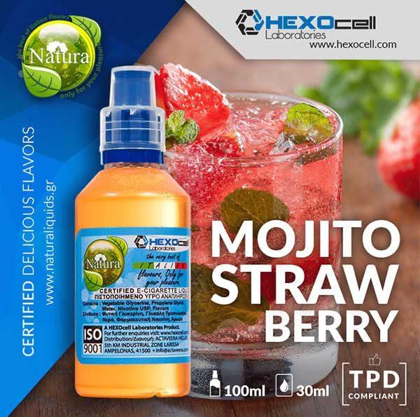Natura - Mojito Strawberry (Mix Shake Vape)