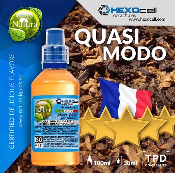 Natura - Quasimodo Tobacco (Mix Shake Vape)