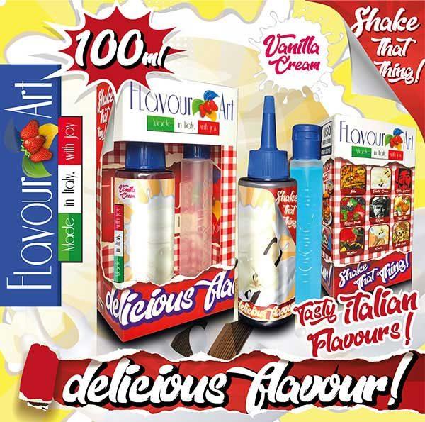 Flavour Art Vanilla Cream (Mix and Shake)
