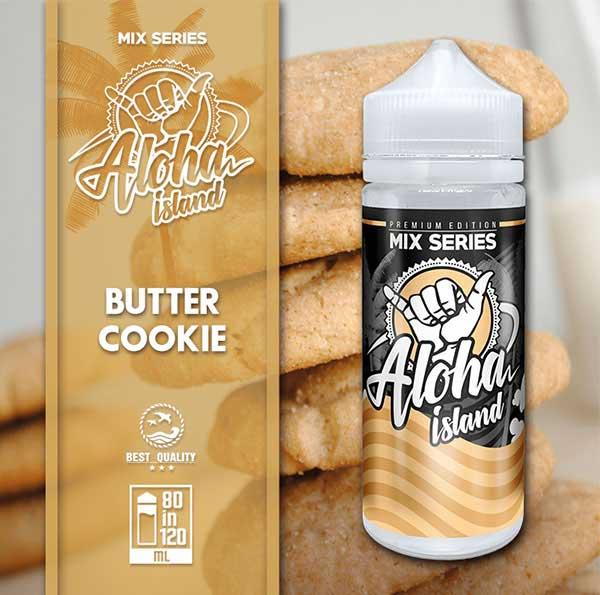 Aloha Island Butter Cookie (Mix Shake Vape)