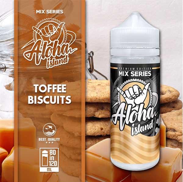 Aloha Island Toffee Biscuits (Mix Shake Vape)