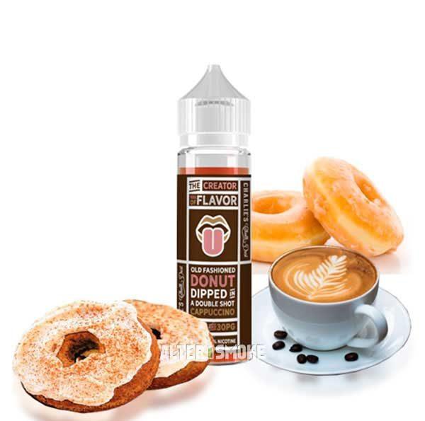 Charlie's Chalk Dust Donut Cappuccino (Mix Shake Vape)