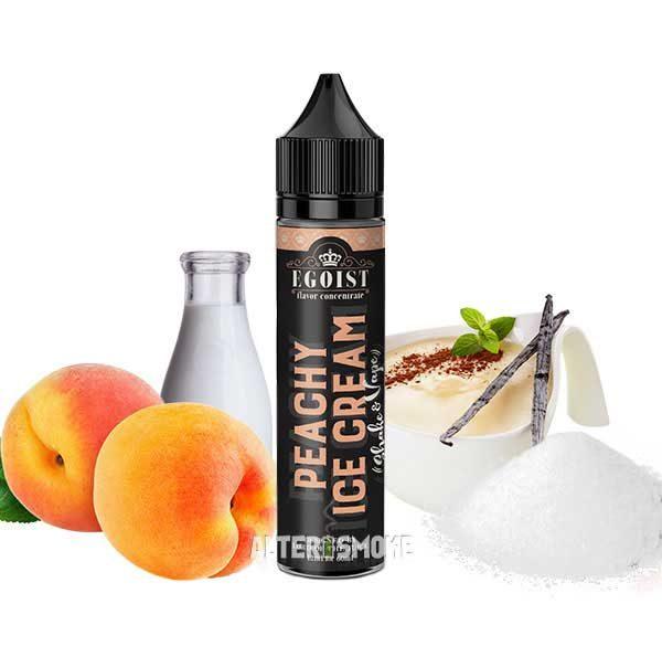 Egoist Peachy Ice Cream 12ml (Shake n Vape)