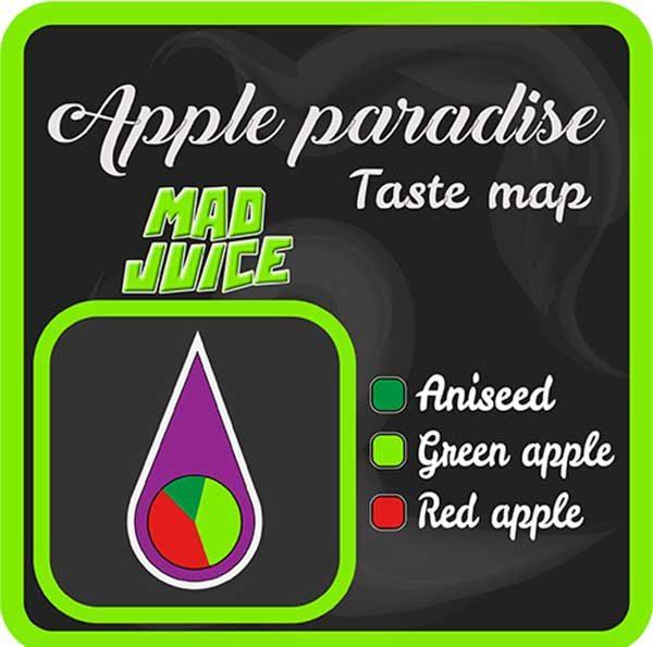 Mad Juice – Apple Paradise (3x10ml)